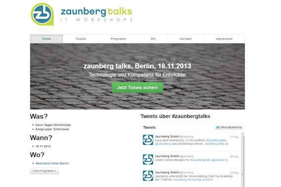 zaunberg-talks