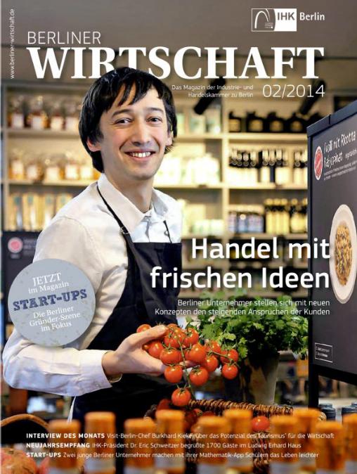 zaunberg in der Berliner Wirtschaft 02/2014